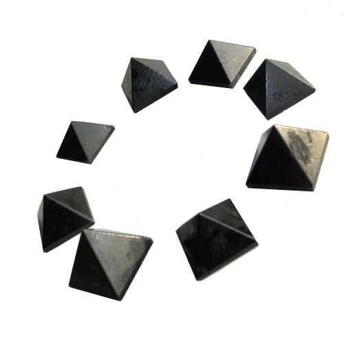 Black Tourmaline Crystal Pyramid